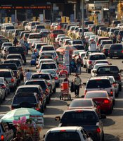 San Ysidro port of entry is the busiest land border crossing in the world. It connects Tijuana to San Diego.