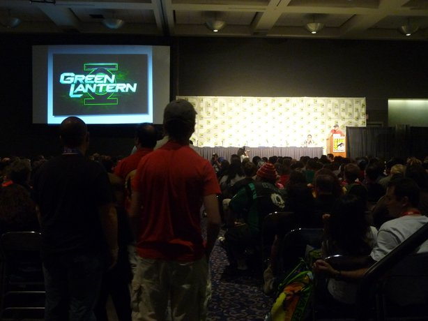 The Geoff Johns panel. People wanted secrets revealed about Green Lantern but Johns resisted.