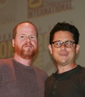 Entertainment Weekly's choice for visionaries: Joss Whedon and J.J. Abrams. (Photo by: Tony Weidinger)