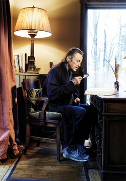 Christopher Walken, as photographed by Peter Yang for Esquire magazine.