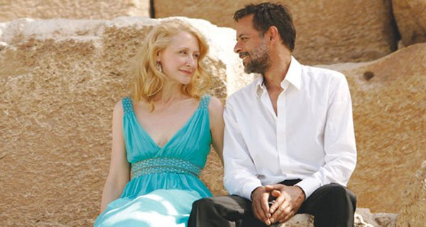 "Patricia Clarkson and Alexander Siddig star in ""Cairo Time"""