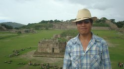 Oaxacan native Gabriel Martinez is one of 350,000 people in Mexico who speak the indigenous language of Zapotec. Martinez now teaches American student his native tongue.