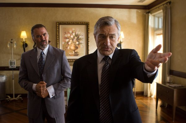 "Robert DeNiro as Senator McLaughlin in ""Machete"""