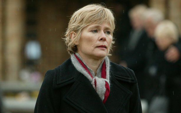 Dr Hobson Actress Clare Holman When Two Murders Share