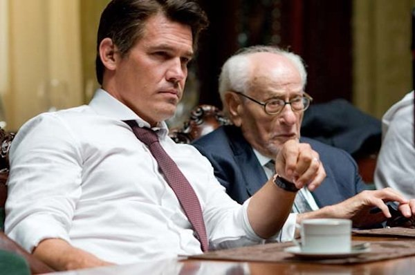 "Josh Brolin and Eli Wallach in ""Wall Street: Money Never Sleeps."""