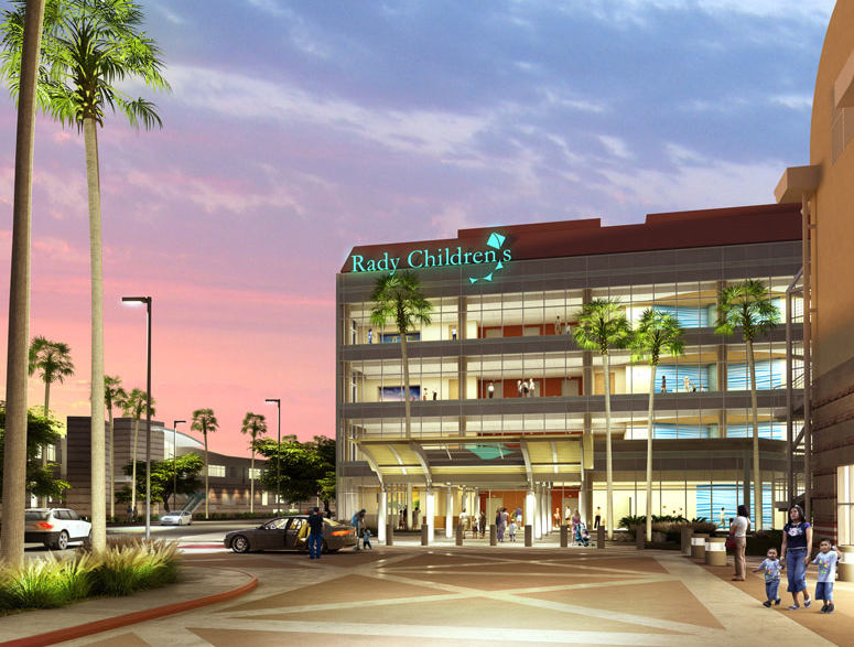 Rady Childrens Hospital San Diego Is A Nonprofit 520 Bed Pediatric Care Facility Dedicated To Excellence In Research And Teaching
