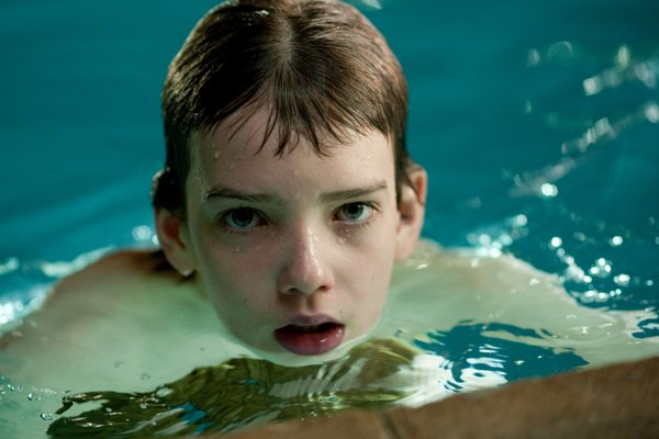 "Kodi Smit-McPhee as Owen in ""Let Me In."""