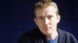Author David Mitchell.
