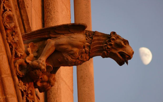 One Of The Most Notable Characteristics Gothic Architecture Is Gargoyle Gargoyles Are Decorative Monstrous Little Creatures Perched At Along