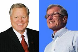 Bill Horn and Steve Gronke, candidates for San Diego County Supervisor, 5th District