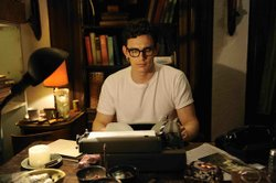 "James Franco as Allen Ginsberg in the new movie ""Howl,"" currently playing at Reading Gaslamp Theaters."