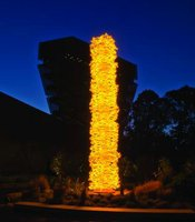 &quot;Saffron Tower,&quot; Dale Chihuly
