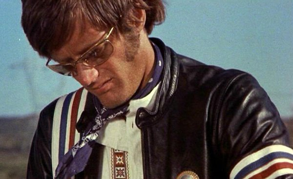 "Peter Fonda in ""Easy Rider,"" one of the BSS film included in the new Criterion box set."