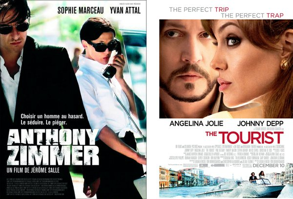 """The Tourist"" is a remake of the French film ""Anthony Zimmer."""