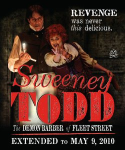 "Cygnet Theatre's production of Stephen Sondheim's ""Sweeney Todd"" received 7 nominations."