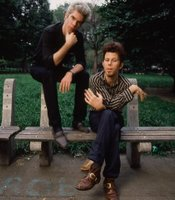 Tom Waits and filmmaker Jim Jarmusch.