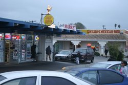 Some shops on Reo Drive in Paradise Hills, December, 2010. 