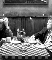 Tom Waits and Iggy Pop.