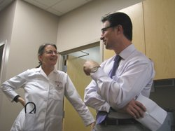 The clinic is staffed by physicians, like Dr. Jennifer Doumas. Paul Arvinitis owns the franchise. He said hes thinking of expanding into other parts of San Diego County.  