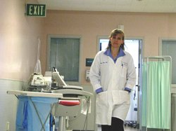Valerie Norton directs the emergency department at Scripps Mercy Hospital in Hillcrest. She said no matter how many urgent care clinics crop up, her ER will always have plenty of business. 