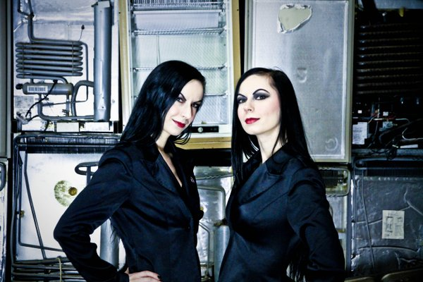 The Soska twins of Twisted Twins Productions.