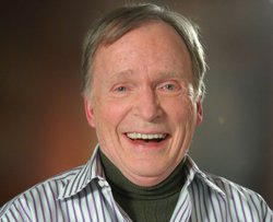 Talk show host Dick Cavett.