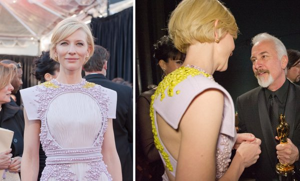 Cate Blanchett's fashion faux pas.