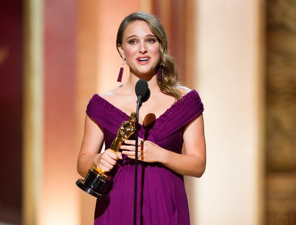 Best Actress winner Natalie Portman.
