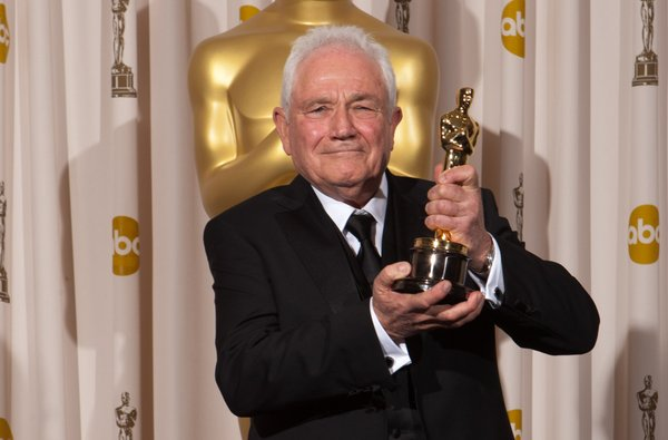 "Best Original Screenplay winner David Seidler for ""The King's Speech."""