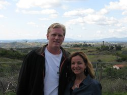 Colin and Karen Archipley at Archi&#39;s Acres, Feb 2011 