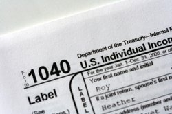 A Form 1040 U.S. Individual Income Tax Return