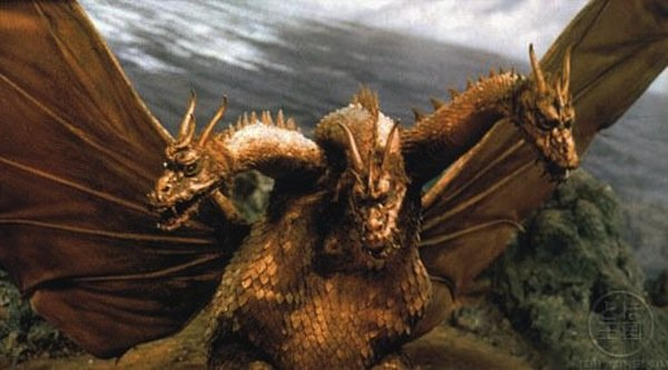 Ghidorah standing in for China.