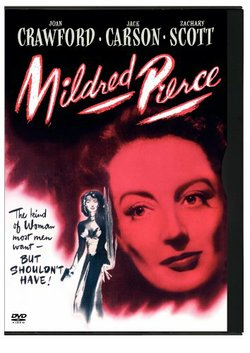 "Poster for the 1941 film version of ""Mildred Pierce,"" starring Joan Crawford."