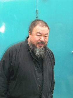 Internationally acclaimed Chinese artist Ai Weiwei at his studio last November.