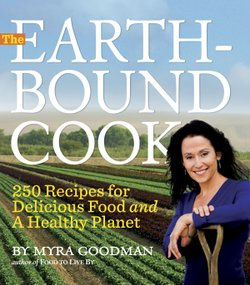 The Earthbound Cook by Myra Goodman is available in most book stores.