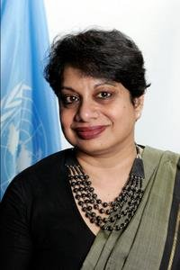 Radhika Coomaraswamy, United Nations (U.N.) Under-Secretary-General, Special Representative for Children and Armed Conflict