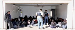 Agents found 53 illegal immigrants from Mexico & Central America inside a Phoenix home in January 2011.