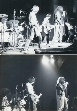 The Ramones performing at The Backdoor at SDSU in the 1970s.