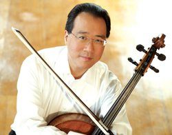 Cellist Yo-Yo Ma performs during the special Carnegie Hall 120th Anniversary concert.