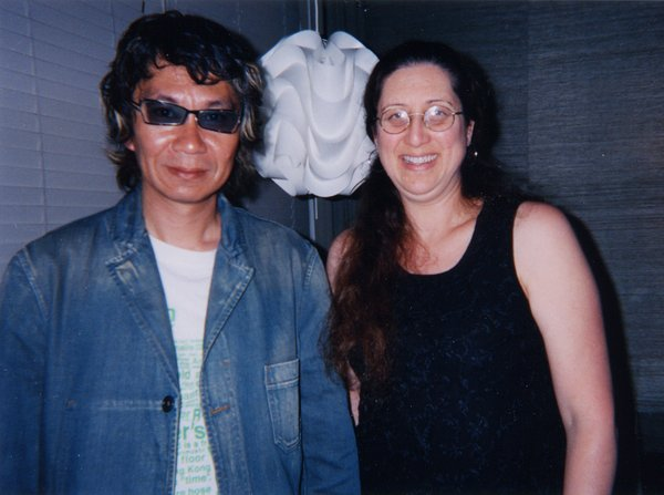 Takashi Miike interviewed by Beth Accomando in 2004.