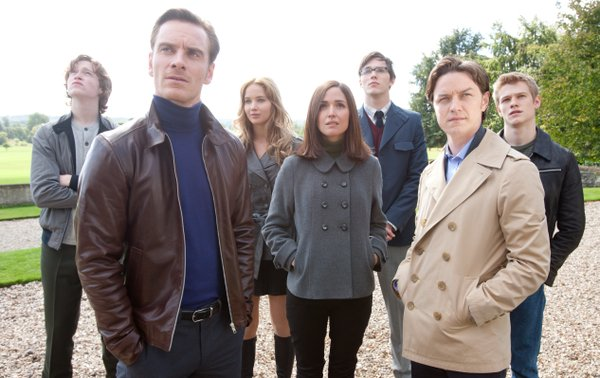 Michael fassbender and James McAvoy lead the new young X-men (and women).