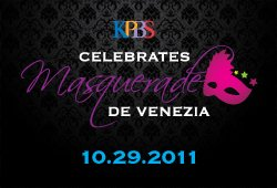 KPBS Celebrates: Masquerade de Venezia graphic