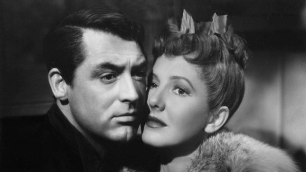 "Cary Grant and Jean Arthur star in ""Talk of the Town""  screening July 28 and 29 at Cinema Under the Stars."