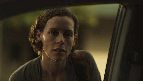 "Embeth Davidtz stars as an actress renting a home in the suburban town of ""3 Backyards."""