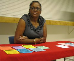 Acintia Wright works as a community health outreach representative. She found out she was HIV positive in 1995. Wright's doctor told her she would be dead within seven years.