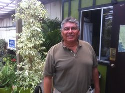 Fausto Palafox is the owner of Mission Hills Nursery and he&#39;s one of the founders of the San Diego Urban Tree Club. July 6, 2011. 