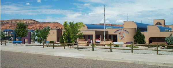 Ganado High School, in the middle of the Navajo Reservation in Ganado AZ, would feel the effect of federal budget cuts.