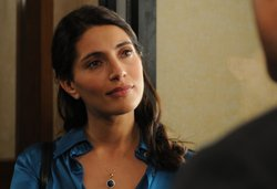 "Caterina Murino stars as Tania Moretti in Masterpiece Mystery! ""Zen: Cabal."""