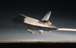 Atlantis Returns From Final Mission Of Space Shuttle program.