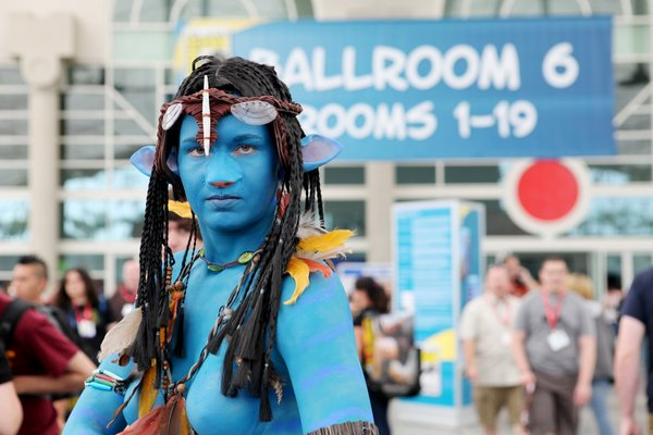 "The Na'vi from ""Avatar"" make an appearance at Comic-Con."